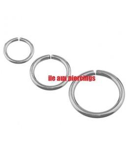 Piercing nez anneau micro fin acier septum